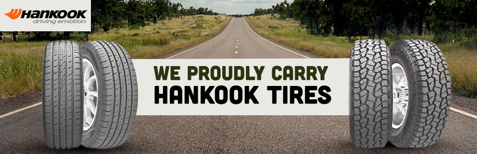 We proudly carry Hankook tires!