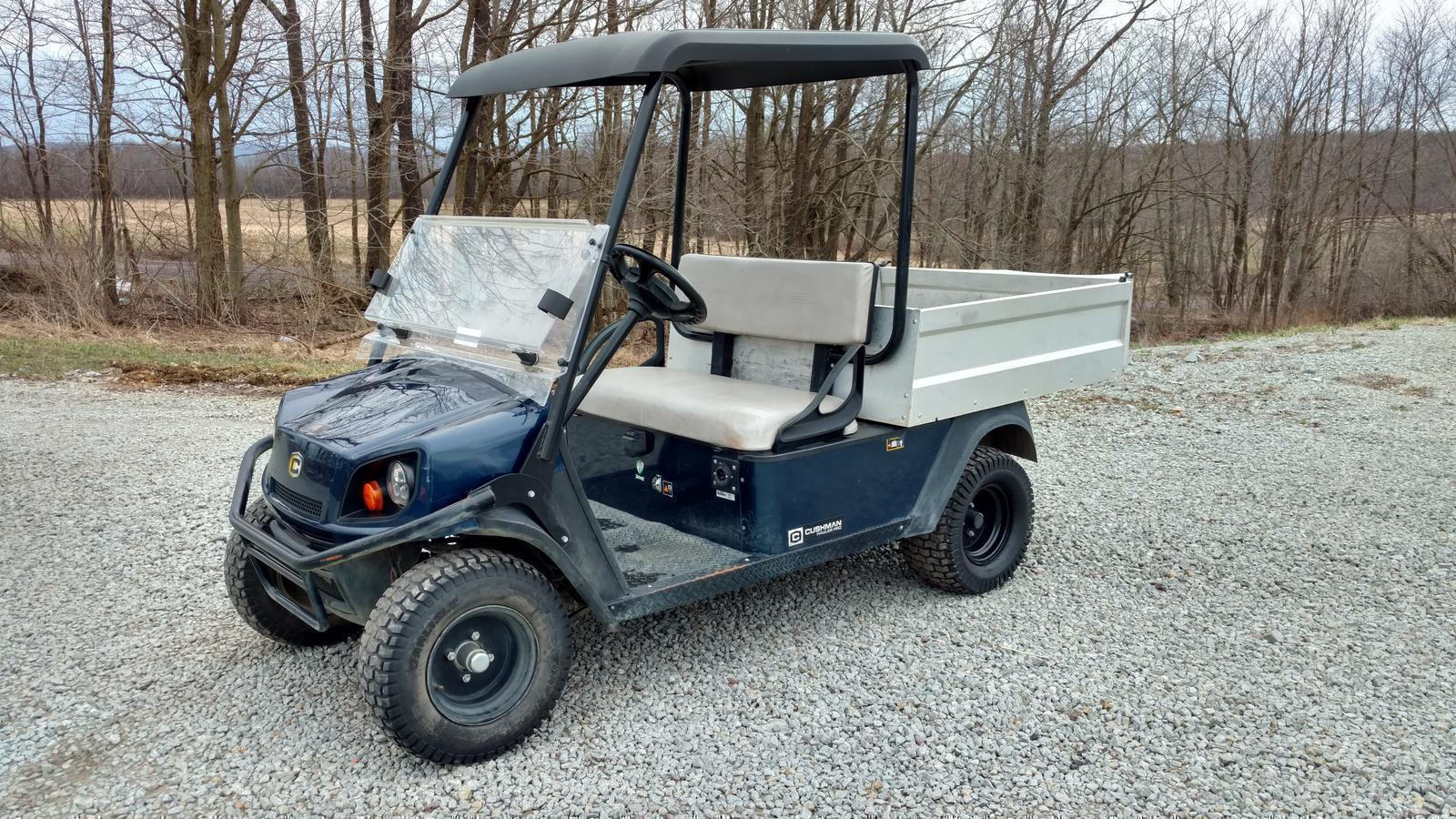 Golf Carts from Cushman Kneppco Equipment LLC & Big Bear