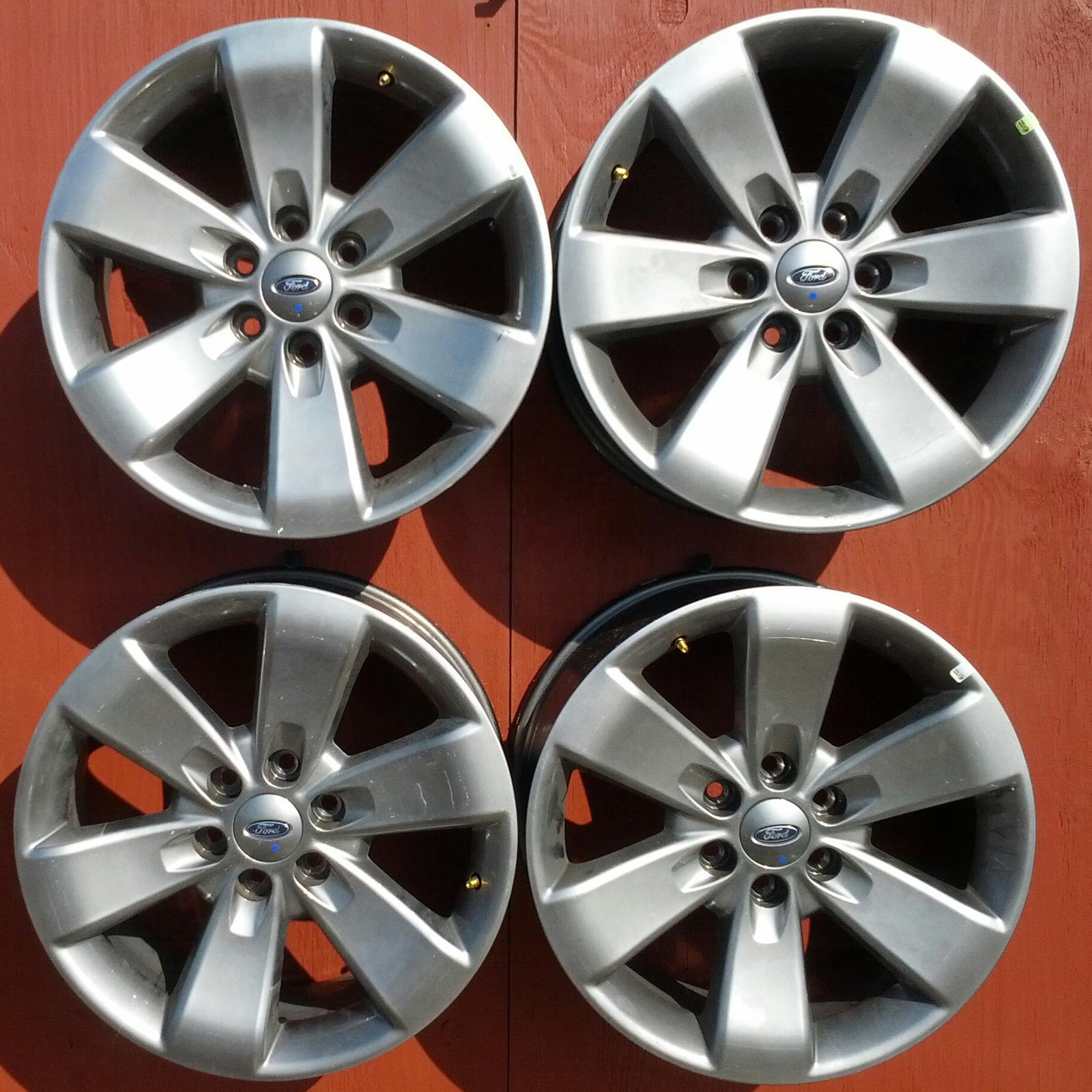 3833 Ford F150 Set Of 4 20 Inch Wheels For Sale In Marlow Ok 1955 F100 On Mcnair Tires Alignment 800 585 6247