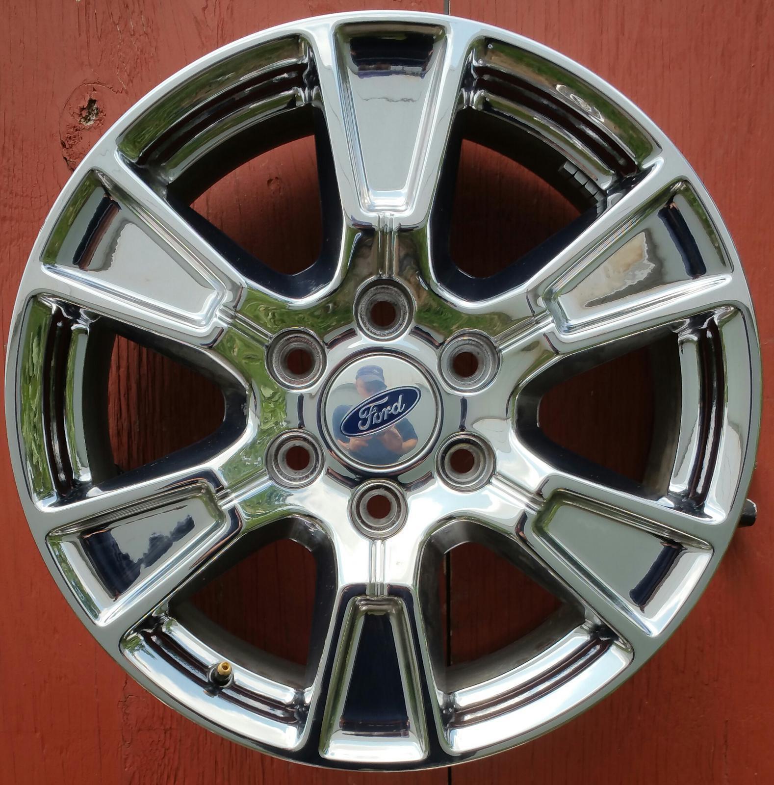 18 Inch Tires >> Ford F 150 18 Inch Wheel Chrome 3998