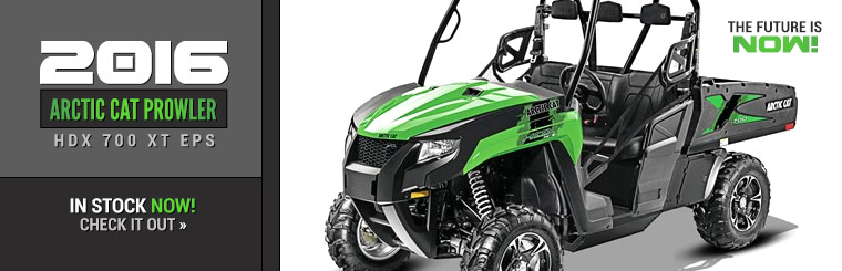 2016 Arctic Cat Prowler HDX 700 XT EPS: Click here to view the model.