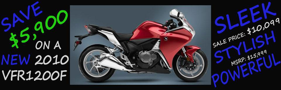Save $5,900 on a New 2010 VFR1200F