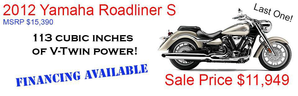 Save $3,441 on a New Roadliner S