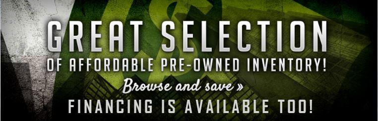 Save with our great selection of affordable pre-owned inventory! Click here to browse.