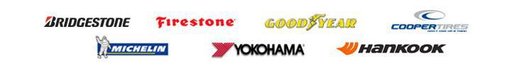 We carry products from Bridgestone, Firestone, Goodyear, Cooper, Michelin®, Yokohama, and Hankook.