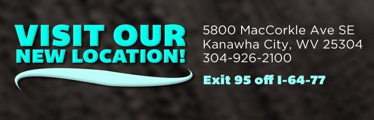 Visit our new location in Kanawha City! Click here for directions.