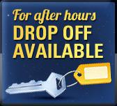 For After Hours Drop Off Available.