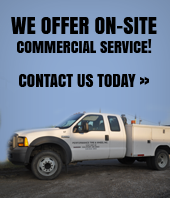 Click here to contact us about on-site commercial service today!