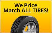 We price match all tires!