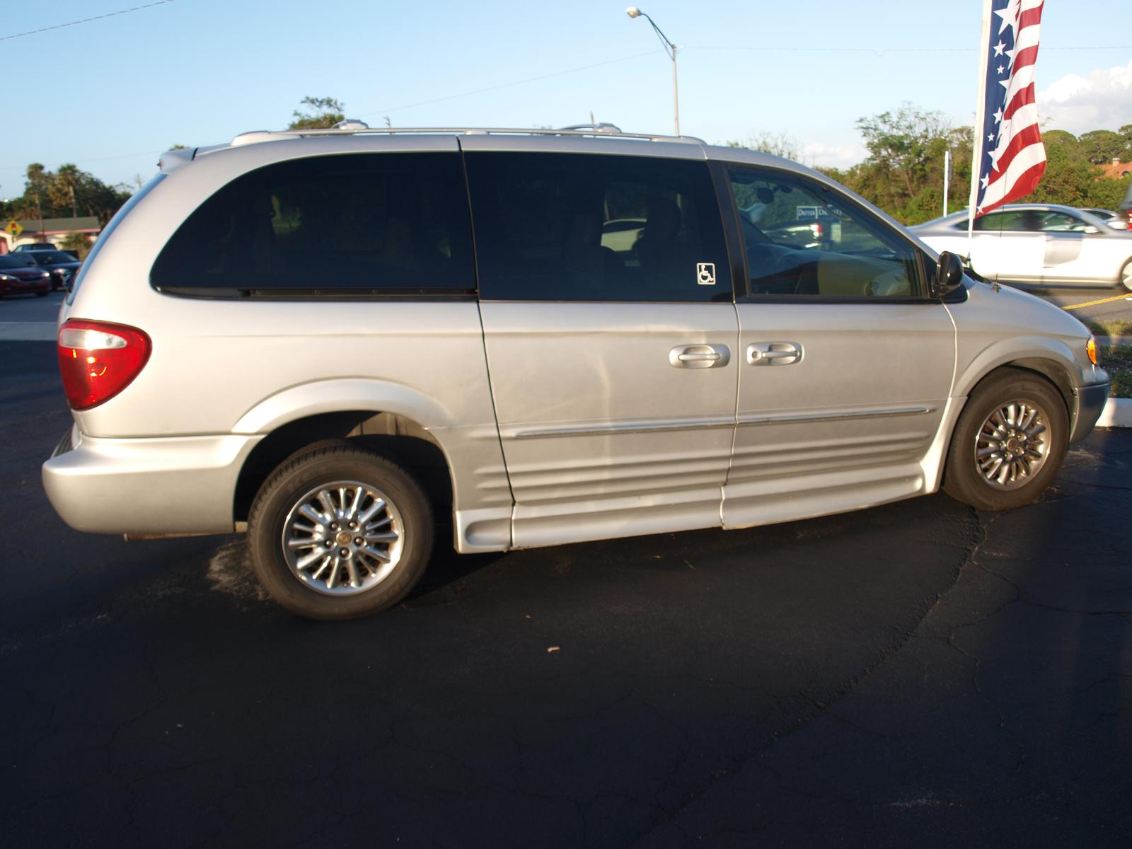 2002 Chrylser Limited With VMI Wheelchair Van Conversion Warranty Bumper To Mobility Medical Equipment