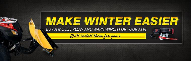 Moose Plow and Warn Winch