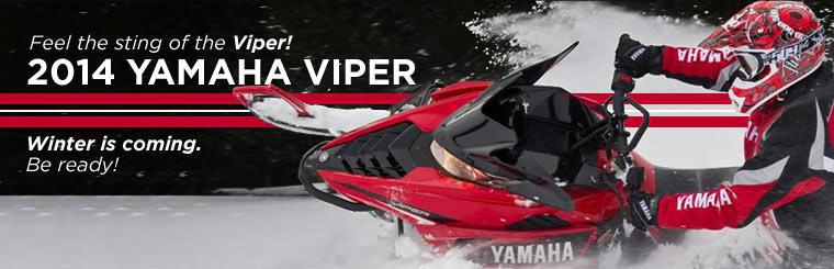 Winter is coming. Be ready with a 2014 Yamaha Viper!