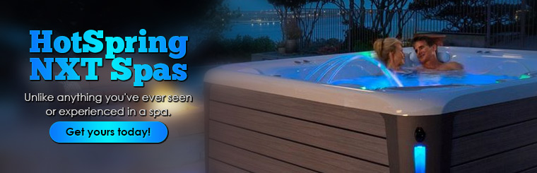 HotSpring NXT Spas: Unlike anything you've ever seen or experienced in a spa. Click here to contact us.