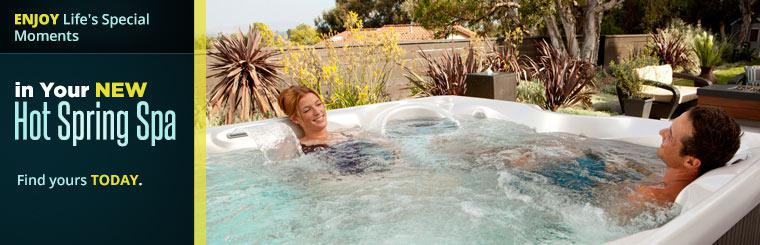 Enjoy life's special moments in your new Hot Spring spa! Find yours today.