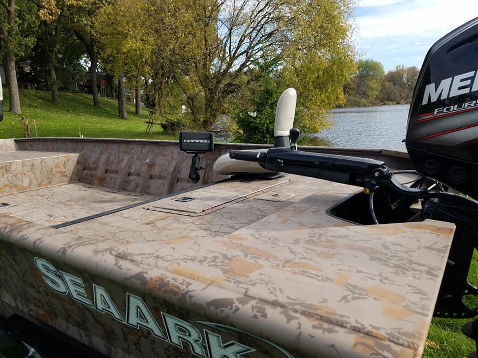 2018 Seaark 2072 V Jon Layout Boat Edition