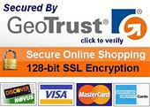 GEOTrust Verified | 128-bit SSl Encryption