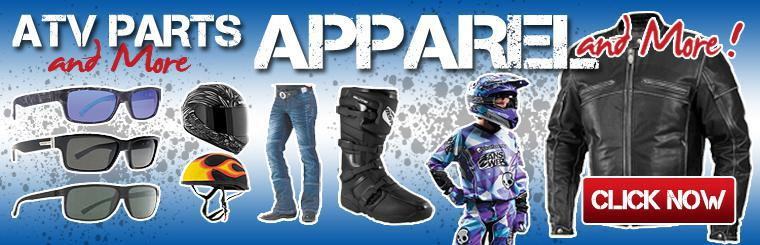 ATV Parts and More Apparel | Helmets, Jackets, Boots, Jeans and more!