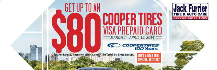 2014 $80 Cooper Spring Rebate March 1 - April 15