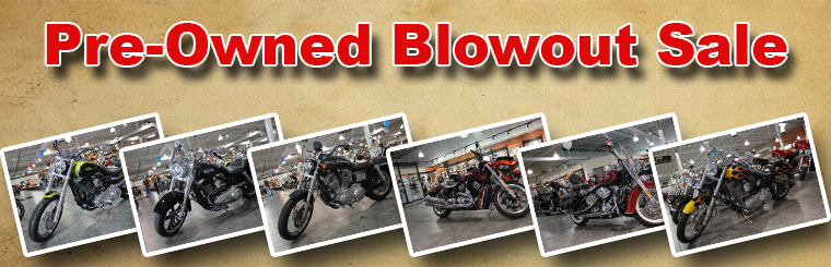 Pre-Owned Blowout Sale