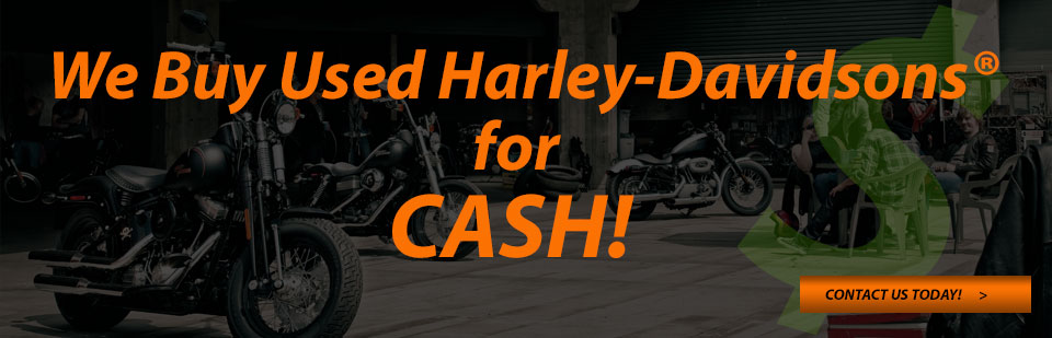 used H-D motorcycles for cash