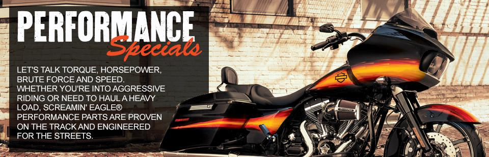Performance Specials at St. Charles Harley-Davidson