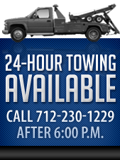 24-Hour Towing Available!