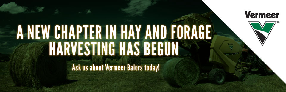 Vermeer Balers: A new chapter in hay and forage harvesting! Click here to contact us.