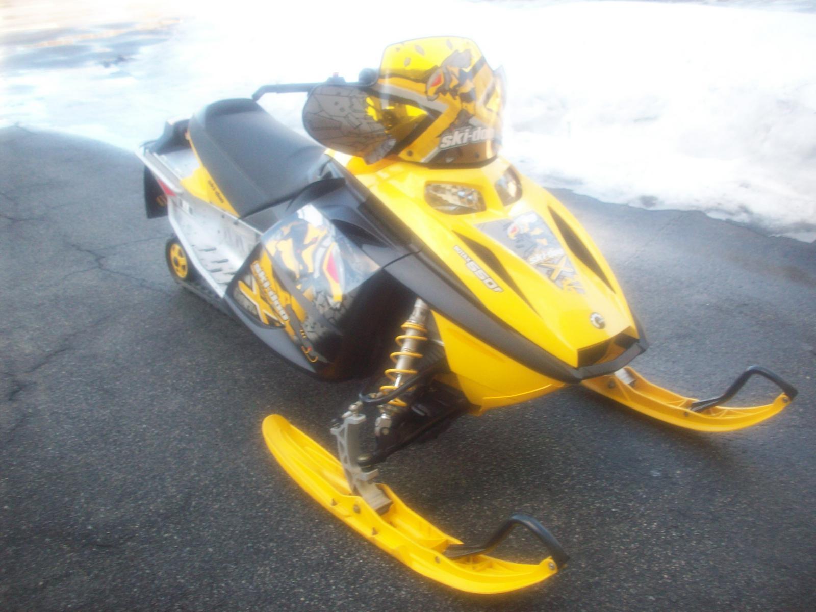 2007 Ski Doo MXZ X 550F For Sale In Epsom NH BICKFORDS SPORT