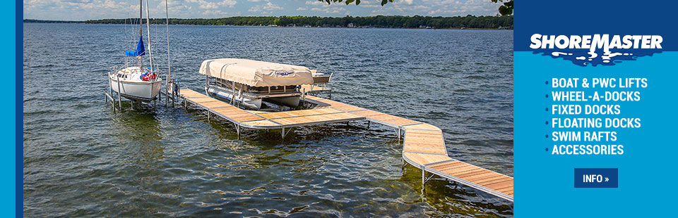 Click here for more information about ShoreMaster Docks!