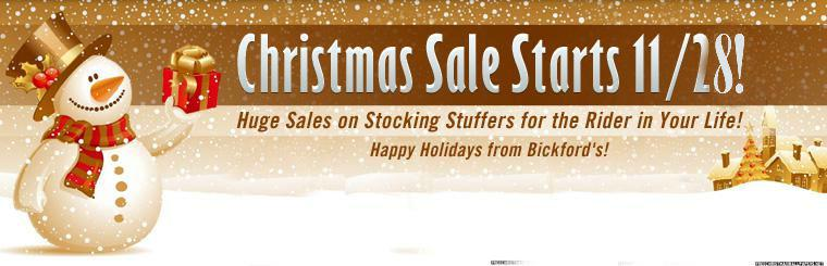 Get huge savings on stocking stuffers for the rider in your life during our Christmas sale! Click here to shop now.