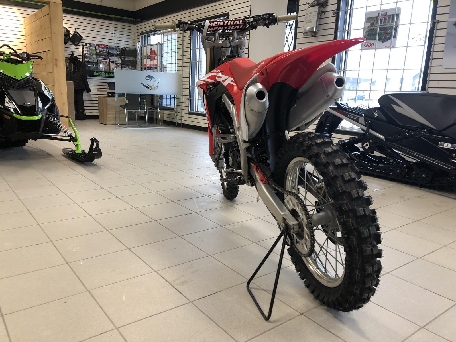 2018 Honda CRF250 R Demo