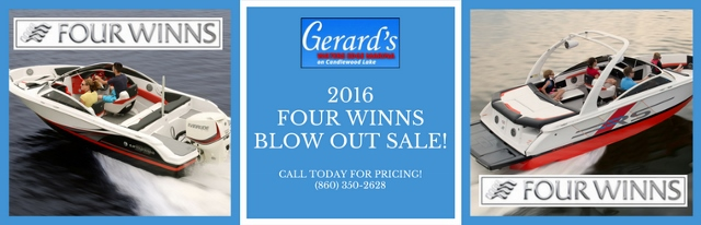 Four Winns 2016 Fire Sale!