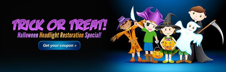 Halloween Headlight Restoration Special: Click here to get your coupon!