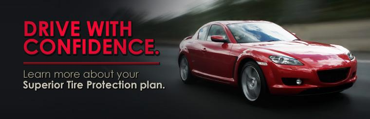 Learn more about your Superior Tire Protection plan.