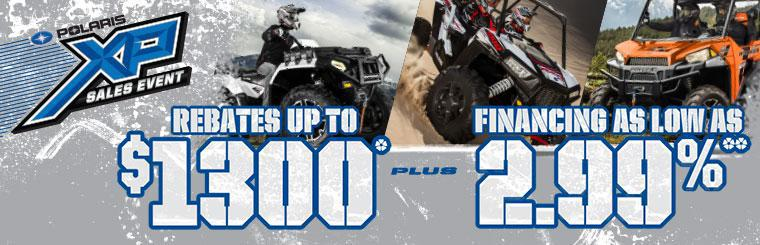 Polaris XP Sales Event March-April 2014