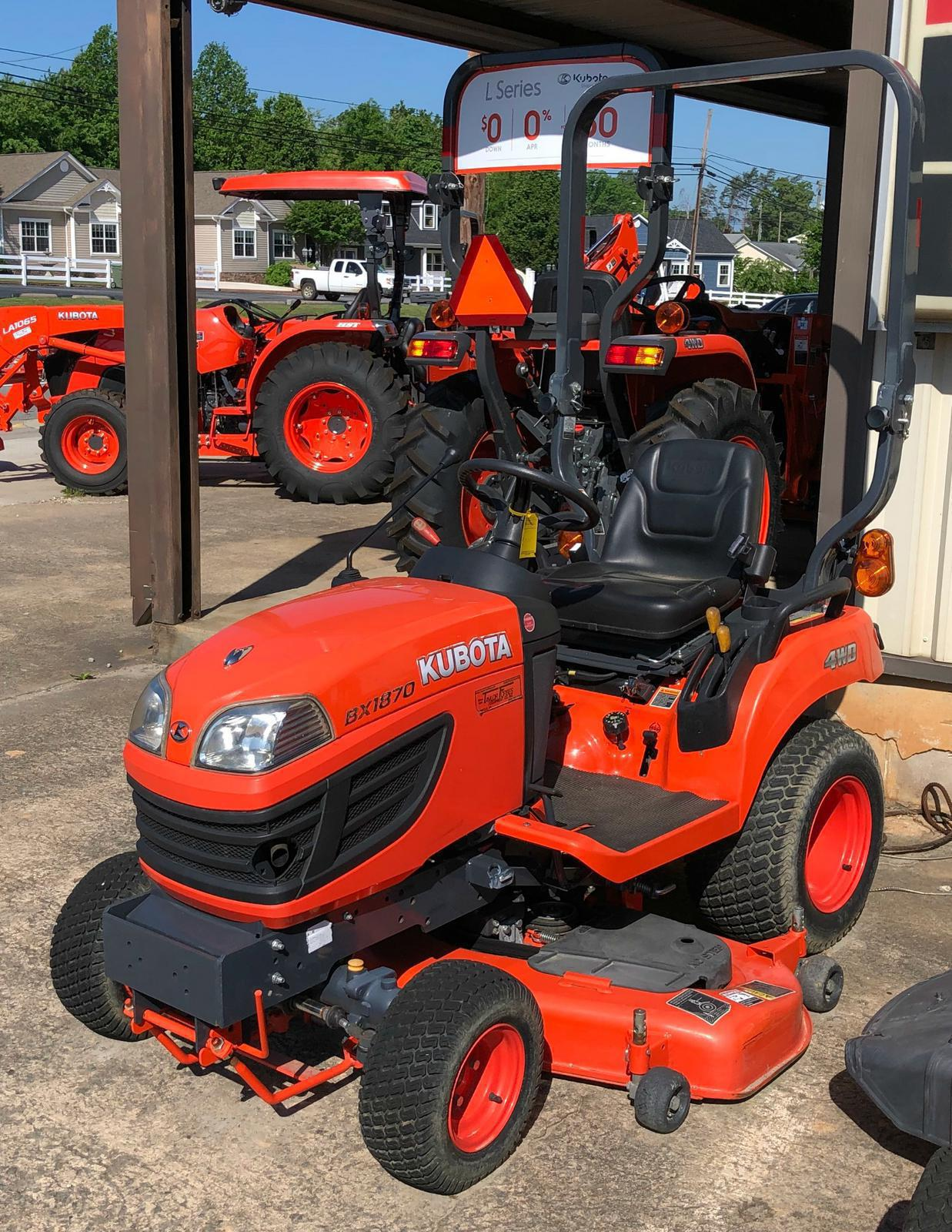 Tractors from Kubota Taylor-Forbes Equipment Company, Inc