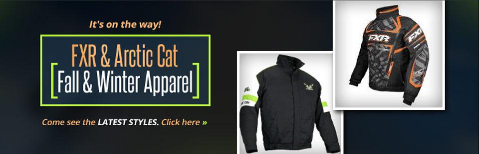 Click here to shop FXR and Arctic Cat fall and winter apparel.