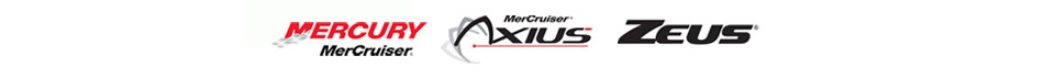 We carry products from Sea Ray, Boston Whaler, Meridian Yachts, MerCruiser, Mercury, Axius, and Zeus.