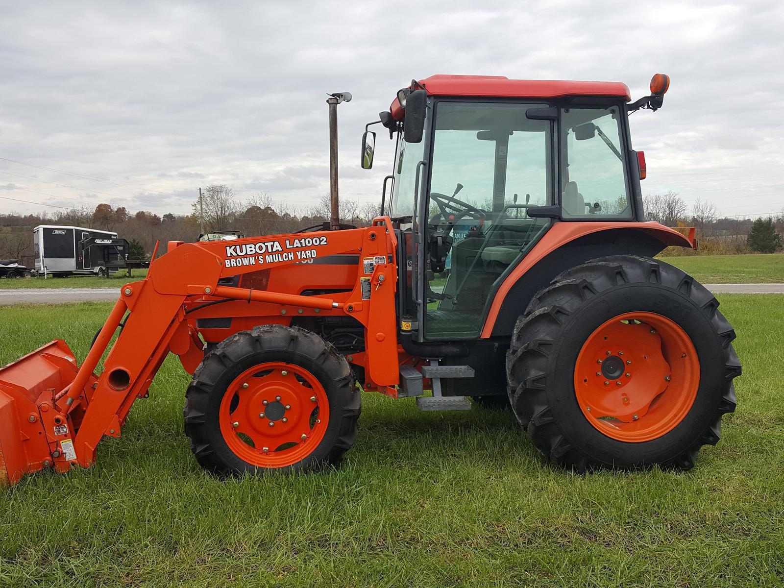 Kubota tractors for sale in kentucky - 2003 M5700