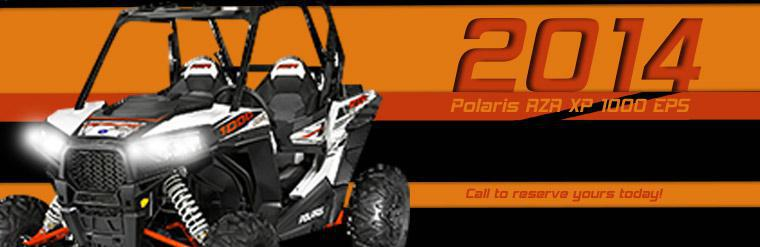 2014 Polaris RZR XP 1000 EPS: Call to reserve yours today!
