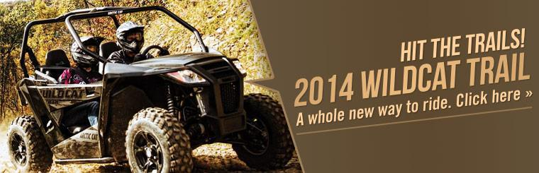 2014 Arctic Cat Wildcat Trail: Click here to view the model.
