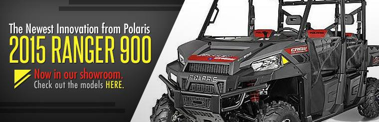 The 2015 Ranger 900 is now in our showroom. Click here to check it out.