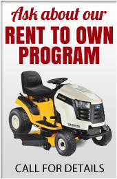 Ask about our rent to own program. Call for details.