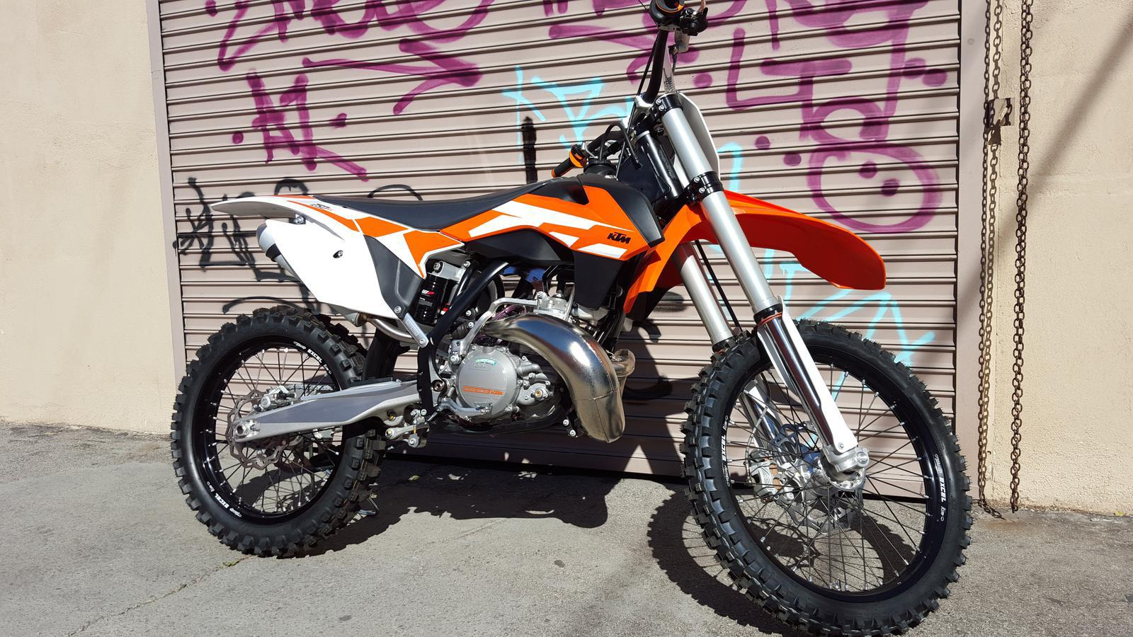 2016 ktm 250 sx for sale in los angeles, ca | beverly hills