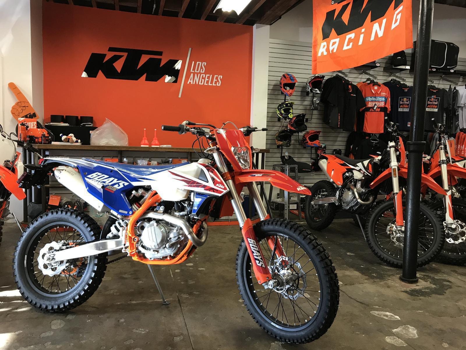 2018 ktm 450 exc f six days. wonderful ktm 2018 ktm 450 excf six days for sale in los angeles ca  beverly hills  motorcycles 310 3600916 for ktm exc f six days s