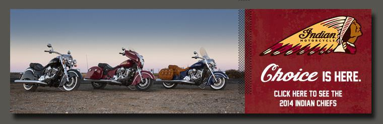 See the all new 2014 Indian Chief Motorcycle