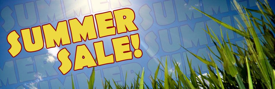 Summer Sale ...