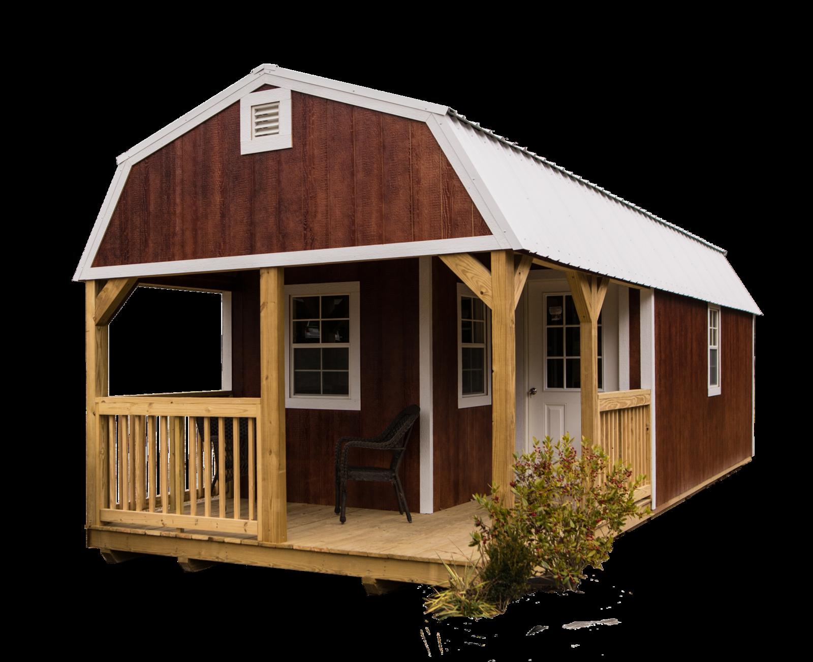 Premier Portable Buildings Premier Lofted Barn Cabin