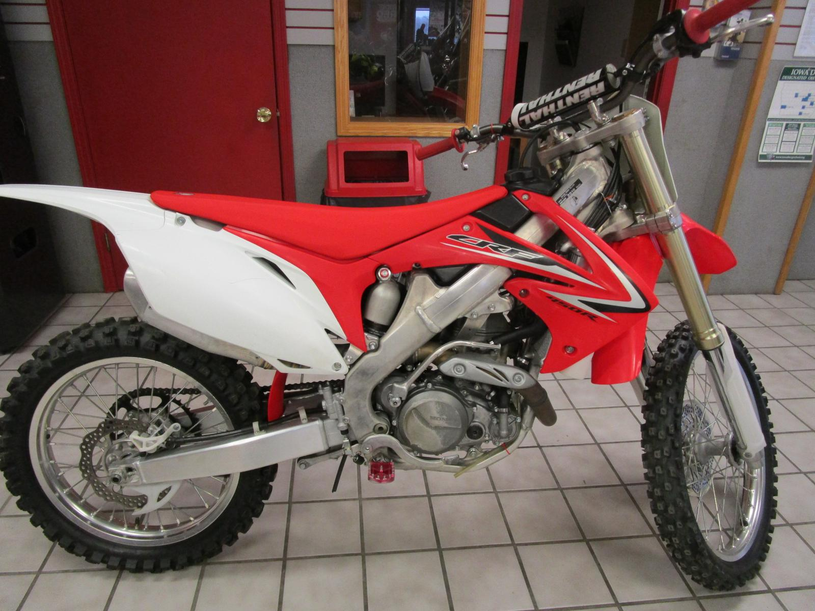 2010 Honda CRF450R for sale in Des Moines IA