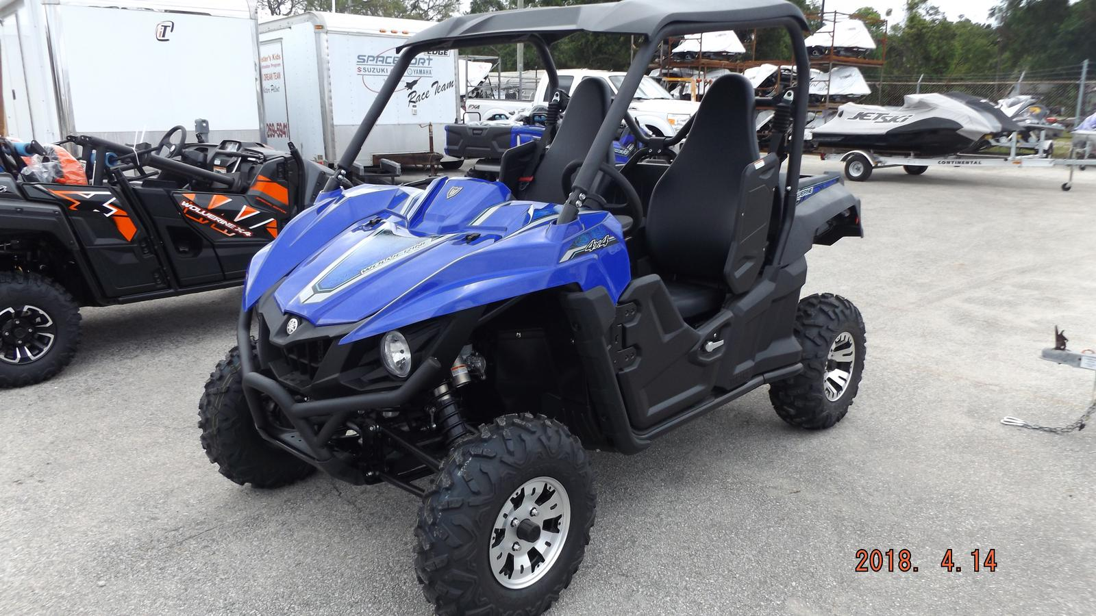 2018 Yamaha Wolverine R Spec Eps For In Usville Fl Eport Cycles 321 269 5941